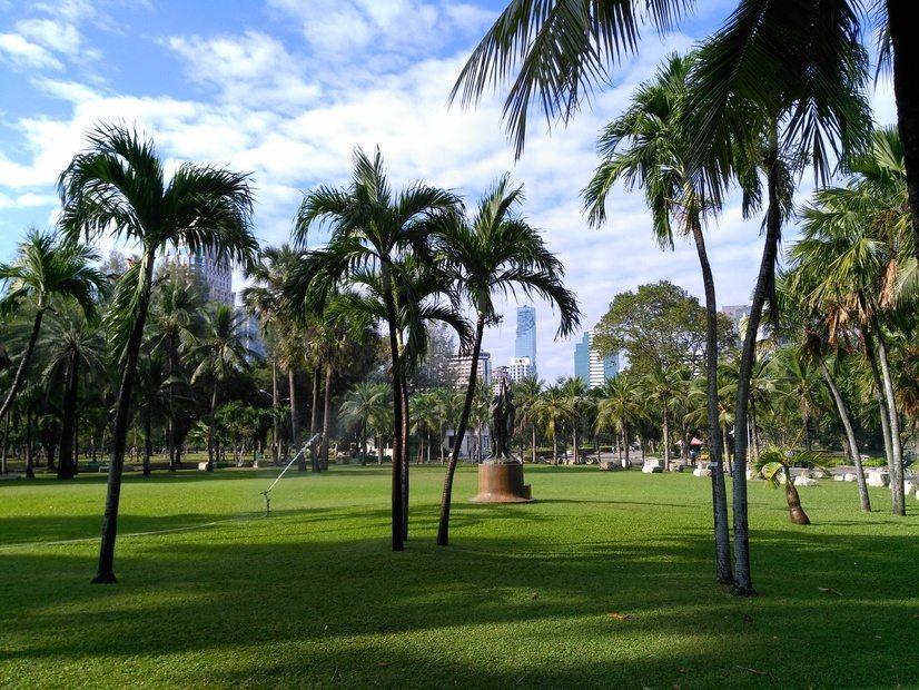 que ver en bangkok Lumphini Park