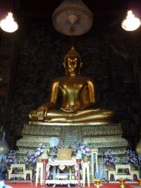 que ver en bangkok Wat Suthata buda