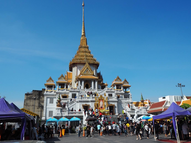 que ver en bangkok Wat Traimit