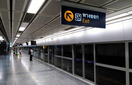 viajar a bangkok estacion metro