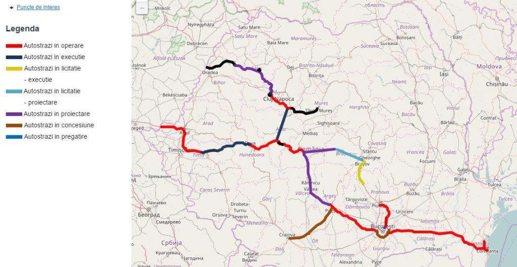 viajar a rumania carreteras