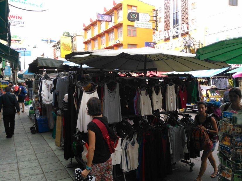 que ver en bangkok khaosanroad mercado