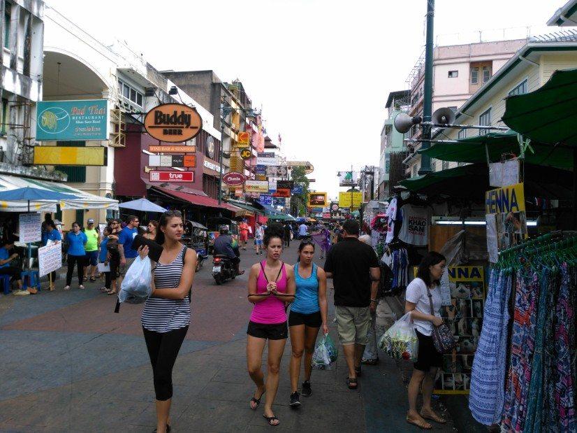 que ver en bangkok khaosanroad