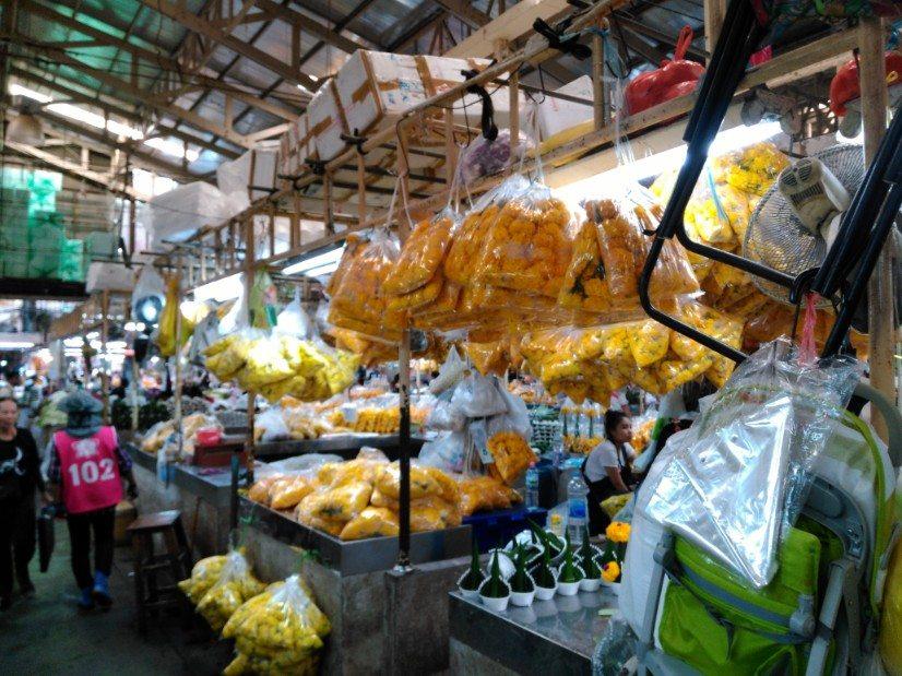 que ver en bangkok mercado flores