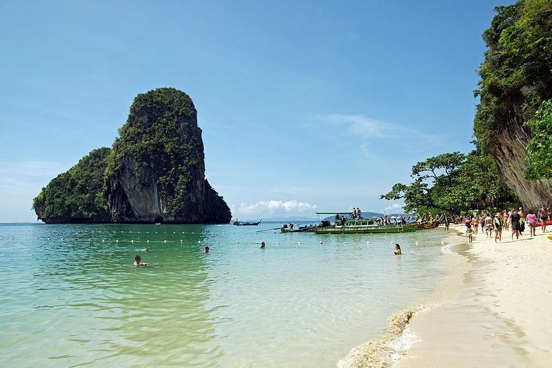las mejores playas de tailandia playa phara nang