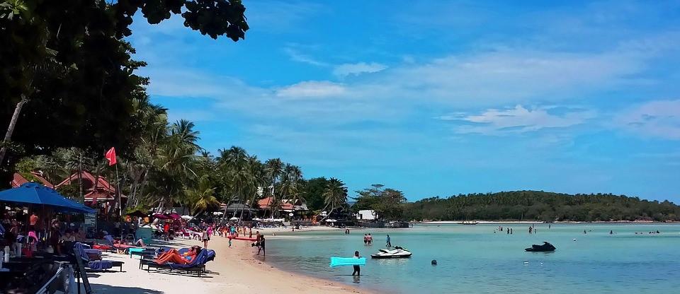 las mejores playas de tailandia playa Koh Samui