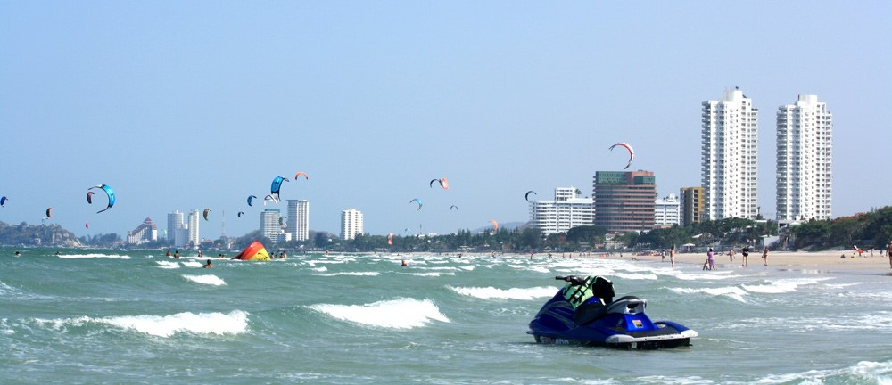 las playas de bangkok hua him