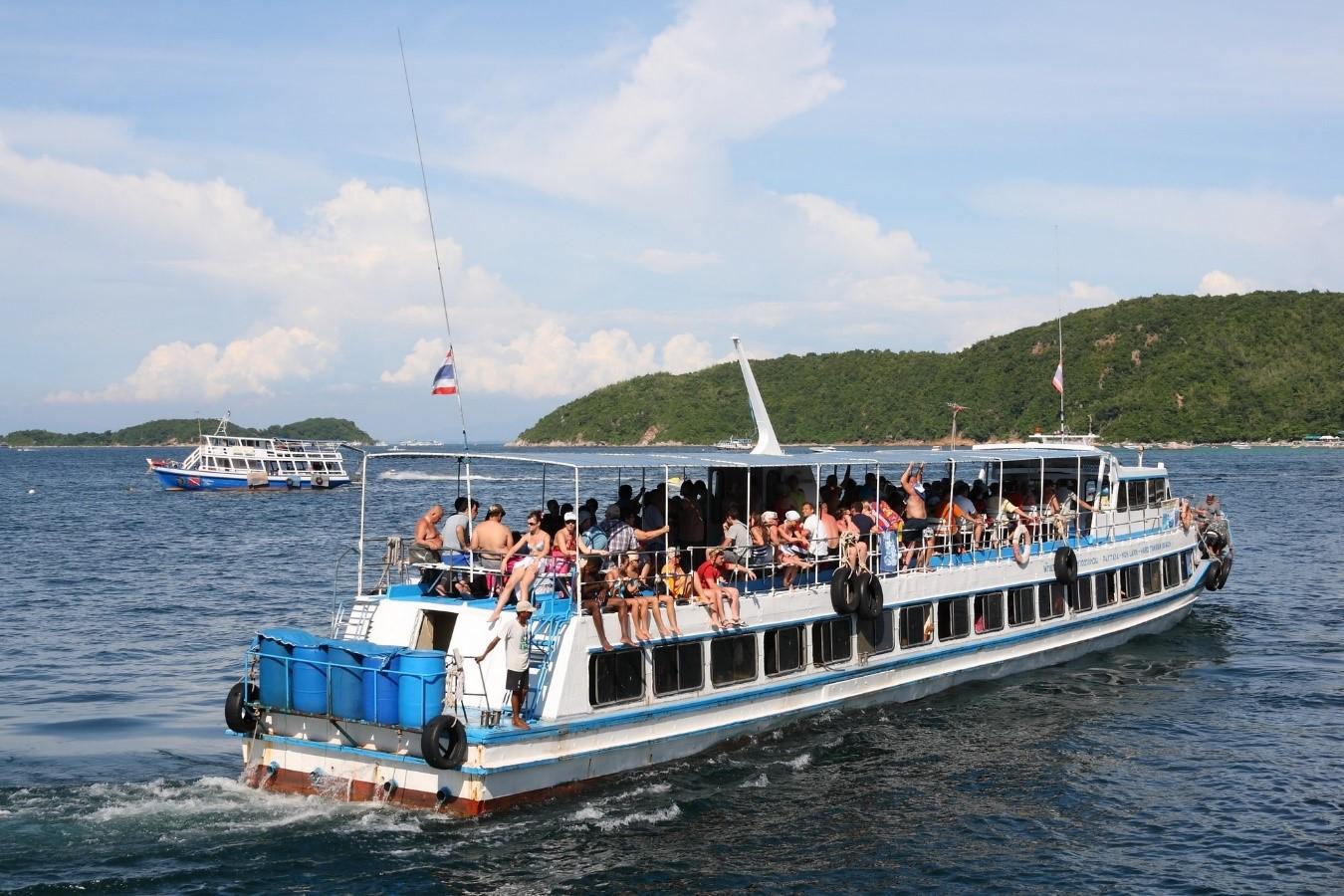 las playas de bangkok koh sichang ferry