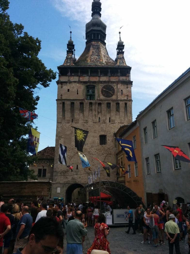 que ver en rumania Sighisoara casco historico