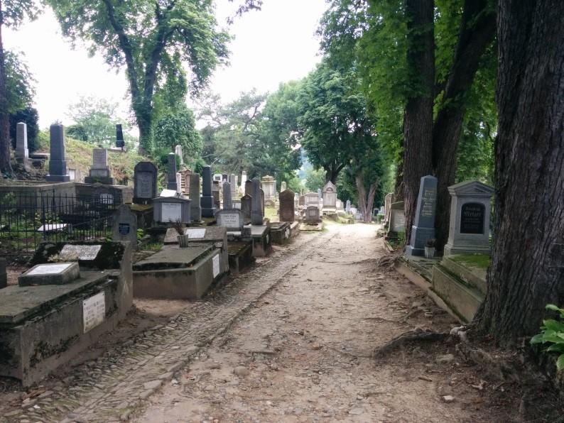 que ver en rumania Sighisoara cementerio