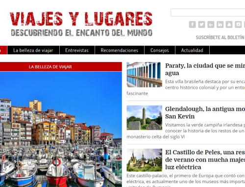 Primer aniversario de Viajes y Lugares, la revista digital para descubrir el encanto del mundo